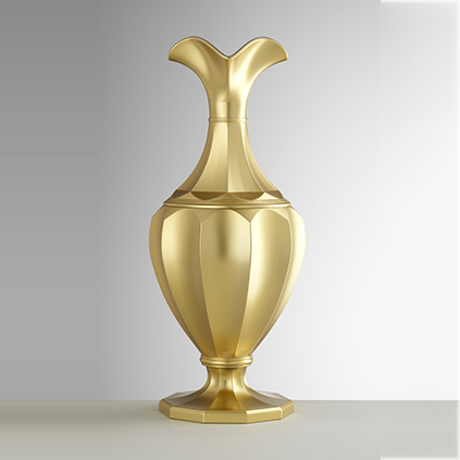 Pitcher gold<br>H: 33cm, D: 14cm<br>Cesara