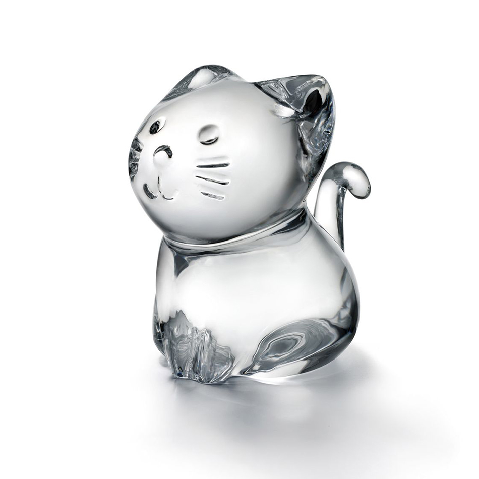 Chat clair<br>H: 7.5cm<br>Minimals