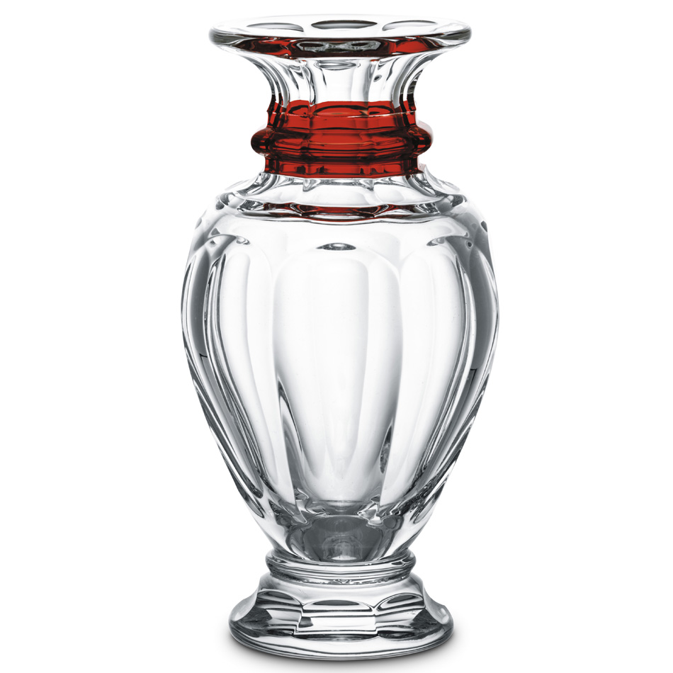 Vase balustre, PM rouge<br>Harcourt