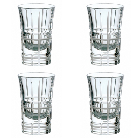 Coffret de 4 verres à vodka</br>Scottish
