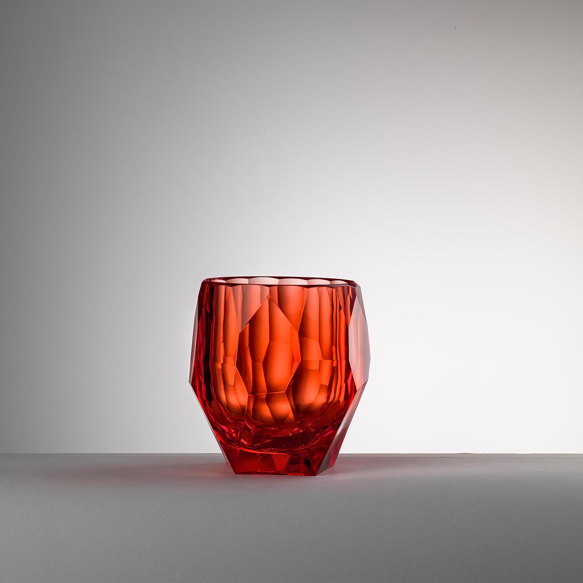 Ice bucket red<br>H: 14.3cm, D: 12cm<br>Filippo