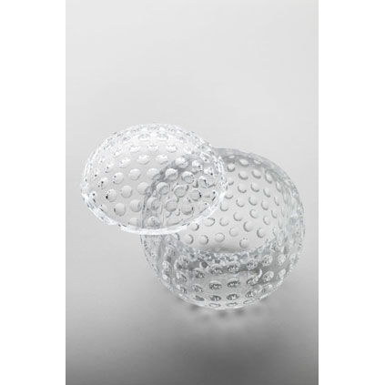 Ice bucket golf ball clear<br>H: 21cm, D: 17cm<br>Golf