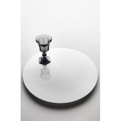 Lazy Susan<br>Solid White D:42 cm
