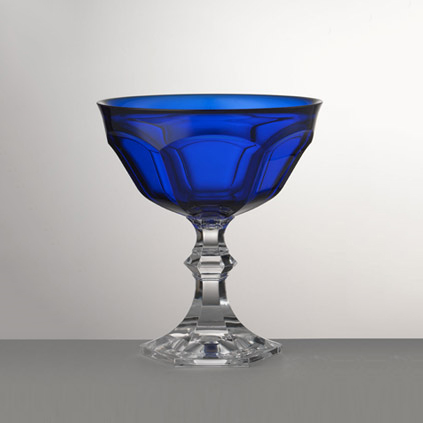 Macedonia Ice Cream Cup<br>Blue H:14, D:12.50 cm