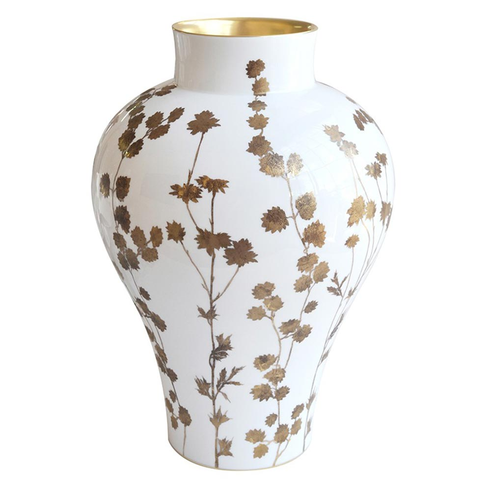 Vase XL blanc<br>H: 68cm<br>New Antique