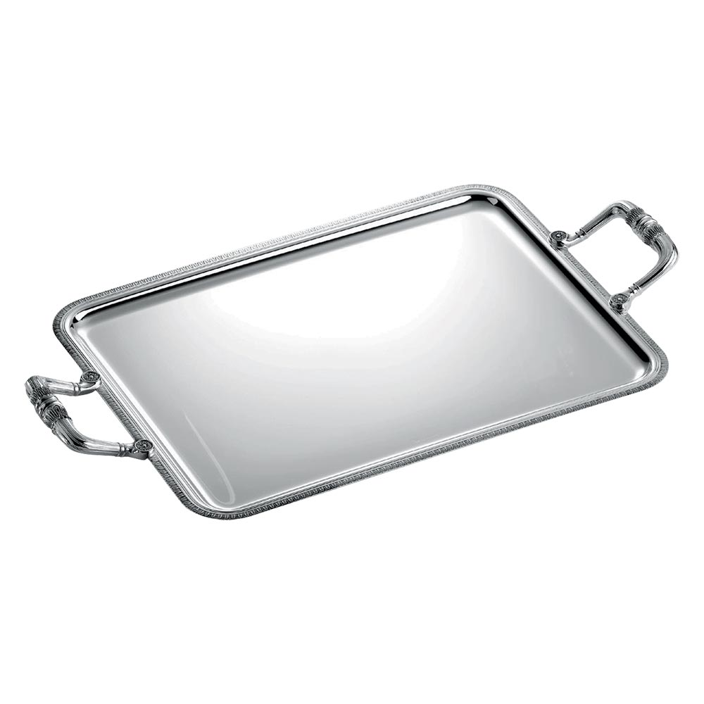 Rectangular tray with handles<br>L: 43cm, l: 31cm<br>Malmaison